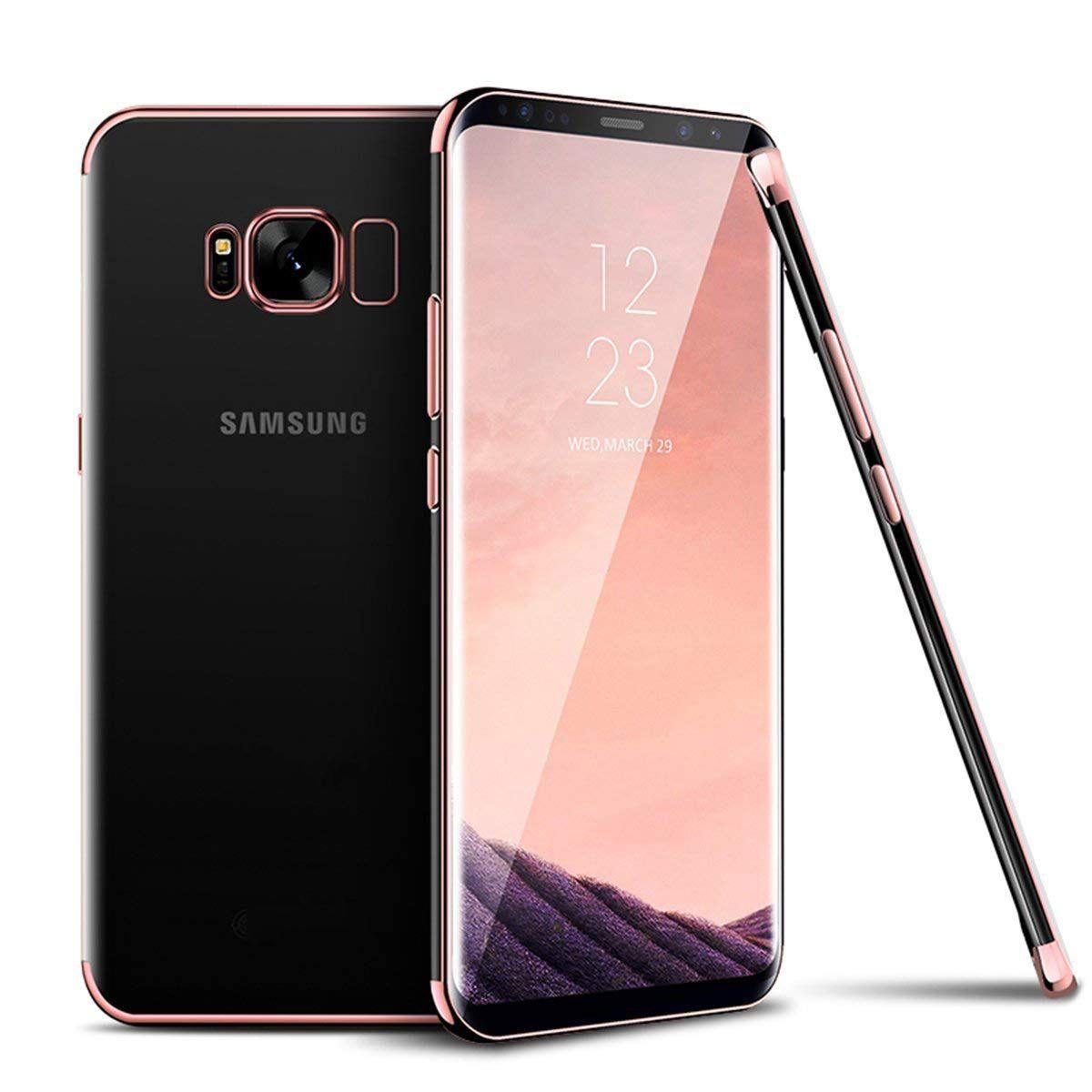 Luxury-Slim-Shockproof-Silicone-Clear-Case-Cover-For-Samsung-Galaxy-S7-S8-S9-A6 thumbnail 44
