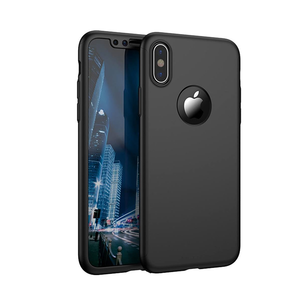 For-Apple-iPhone-XS-Max-XR-Hybrid-360-Slim-Ultra-Thin-Heavy-Duty-Shockproof-Case thumbnail 21