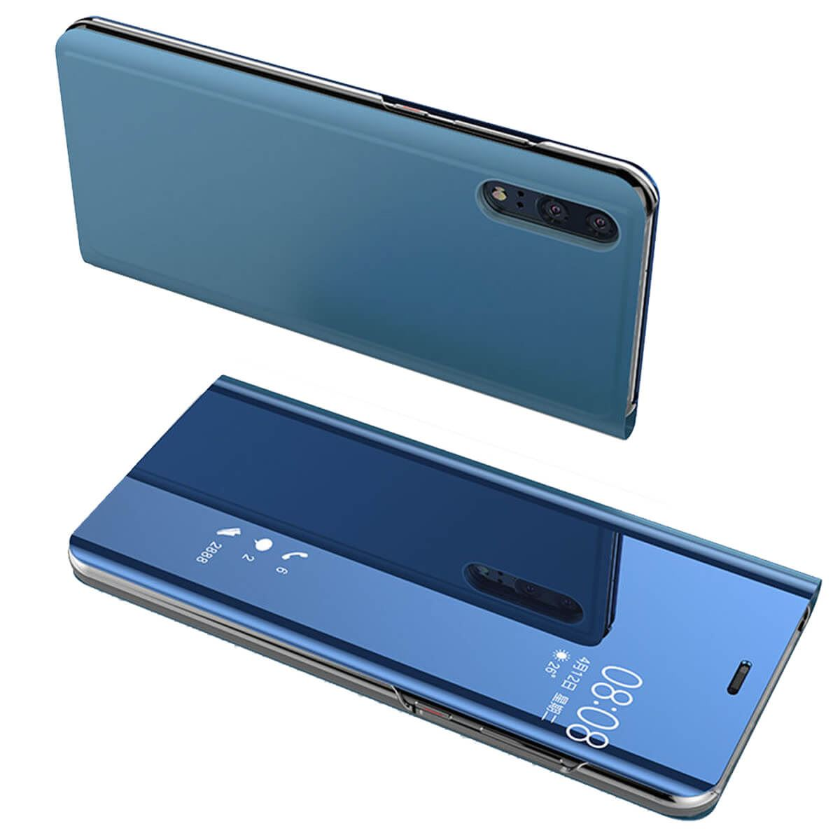 Case-For-Huawei-P20-Pro-Lite-Plus-P10-Smart-View-Mirror-Leather-Flip-Stand-Cover thumbnail 10