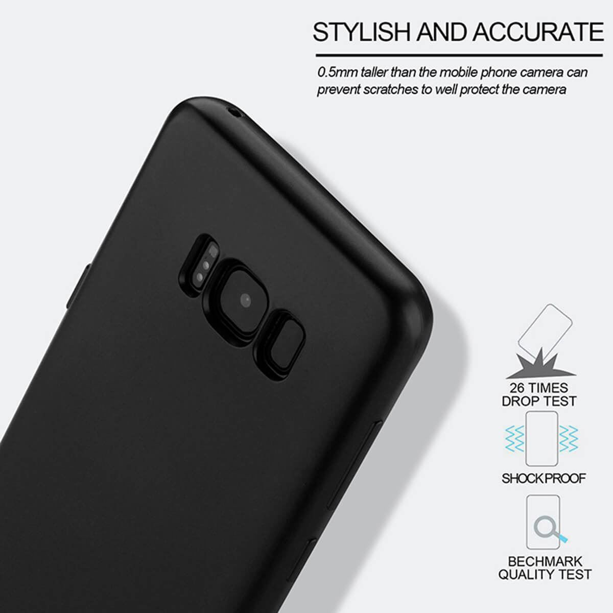 New-ShockProof-Hybrid-360-TPU-Thin-Case-Cover-For-Samsung-Galaxy-S7-edge-S8-S9 miniatuur 25