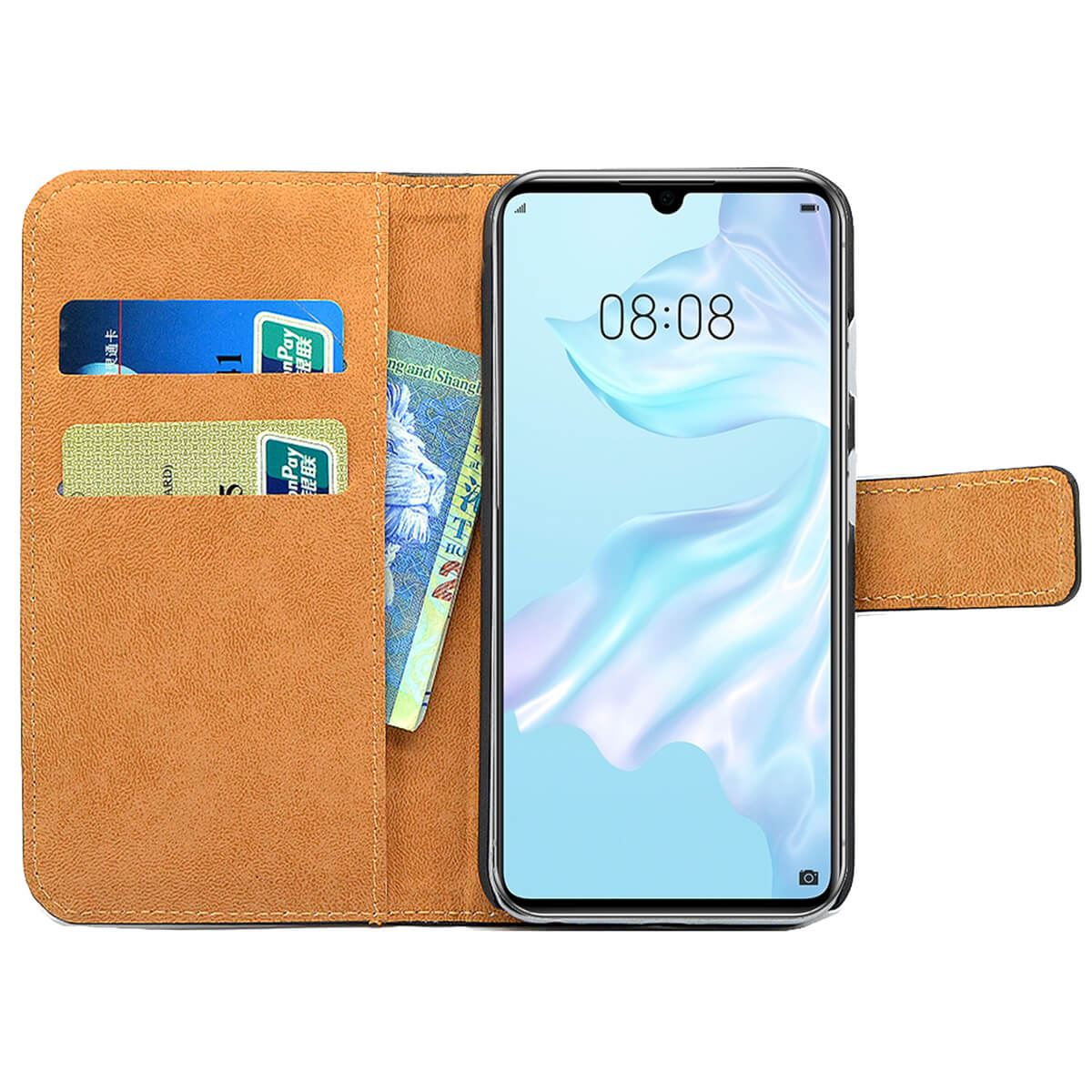 Flip-Cover-For-Huawei-P30-Lite-Pro-Leather-Wallet-Style-With-Magnetic-Closure thumbnail 4