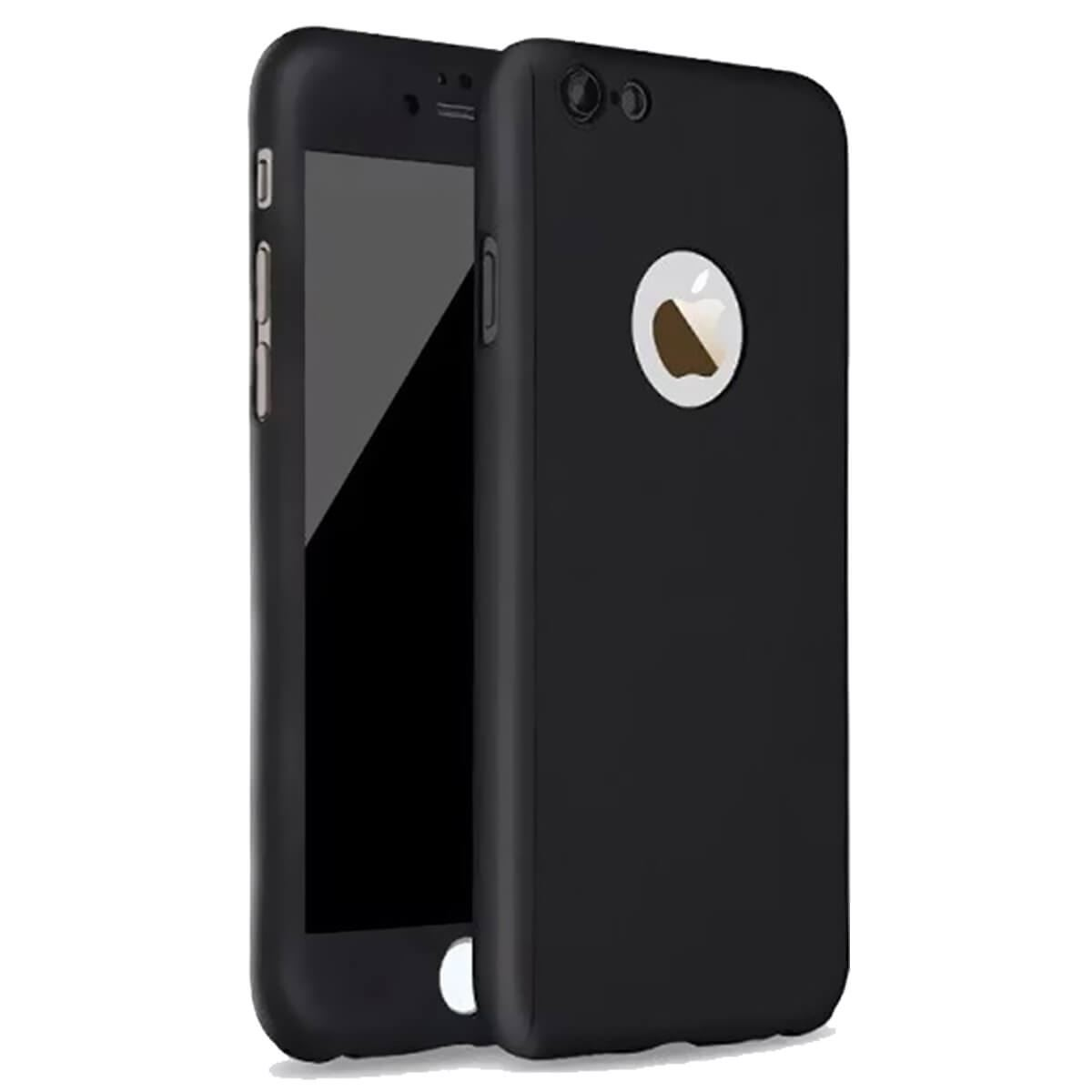 Tempered-Glass-Cover-For-Apple-iPhone-10-X-8-7-6s-5-Hybrid-360-Shockproof-Case thumbnail 3