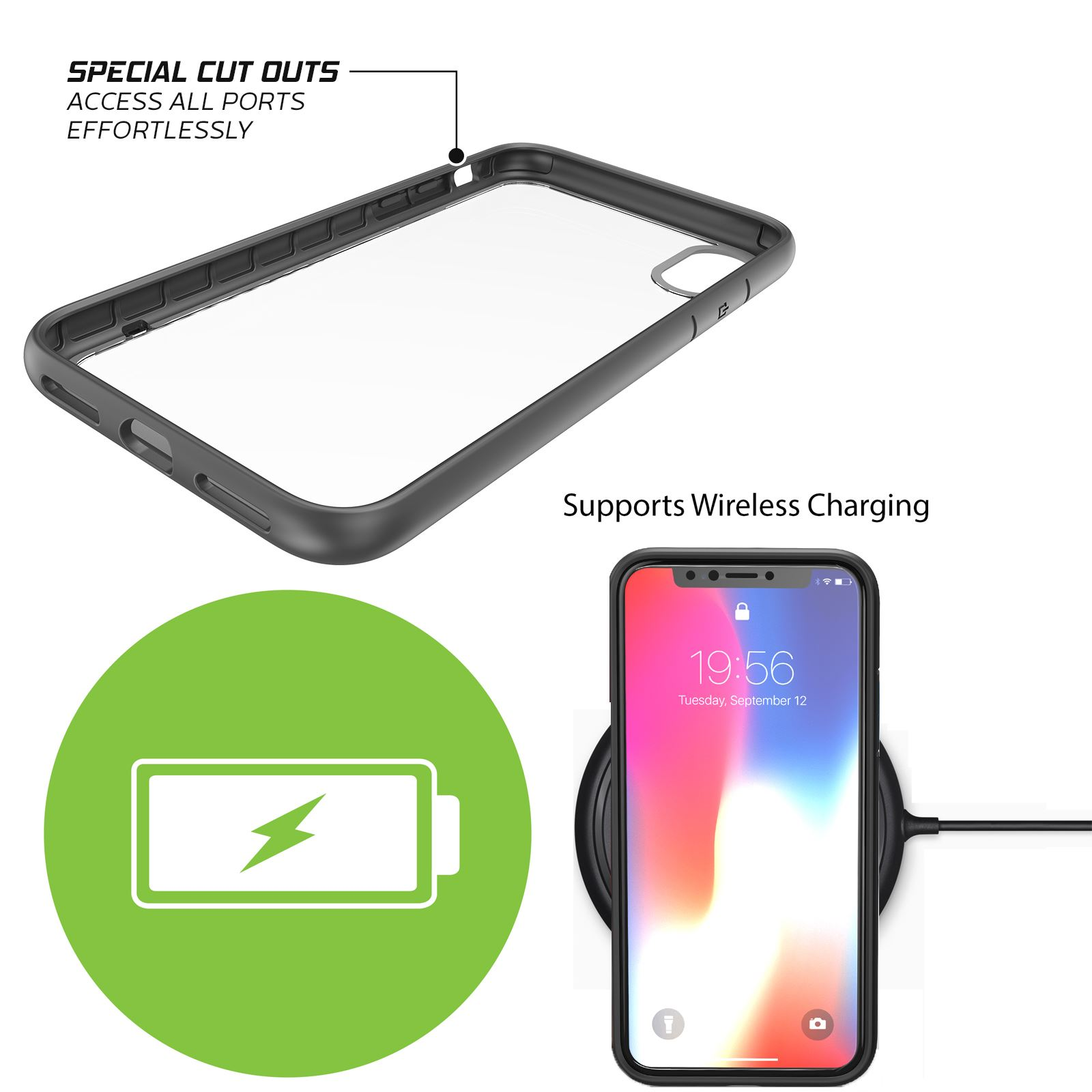 thumbnail 21 - For Apple iPhone XR Xs Max X 8 7 Plus 6 Se 2020 Case Cover Clear Shockproof Thin