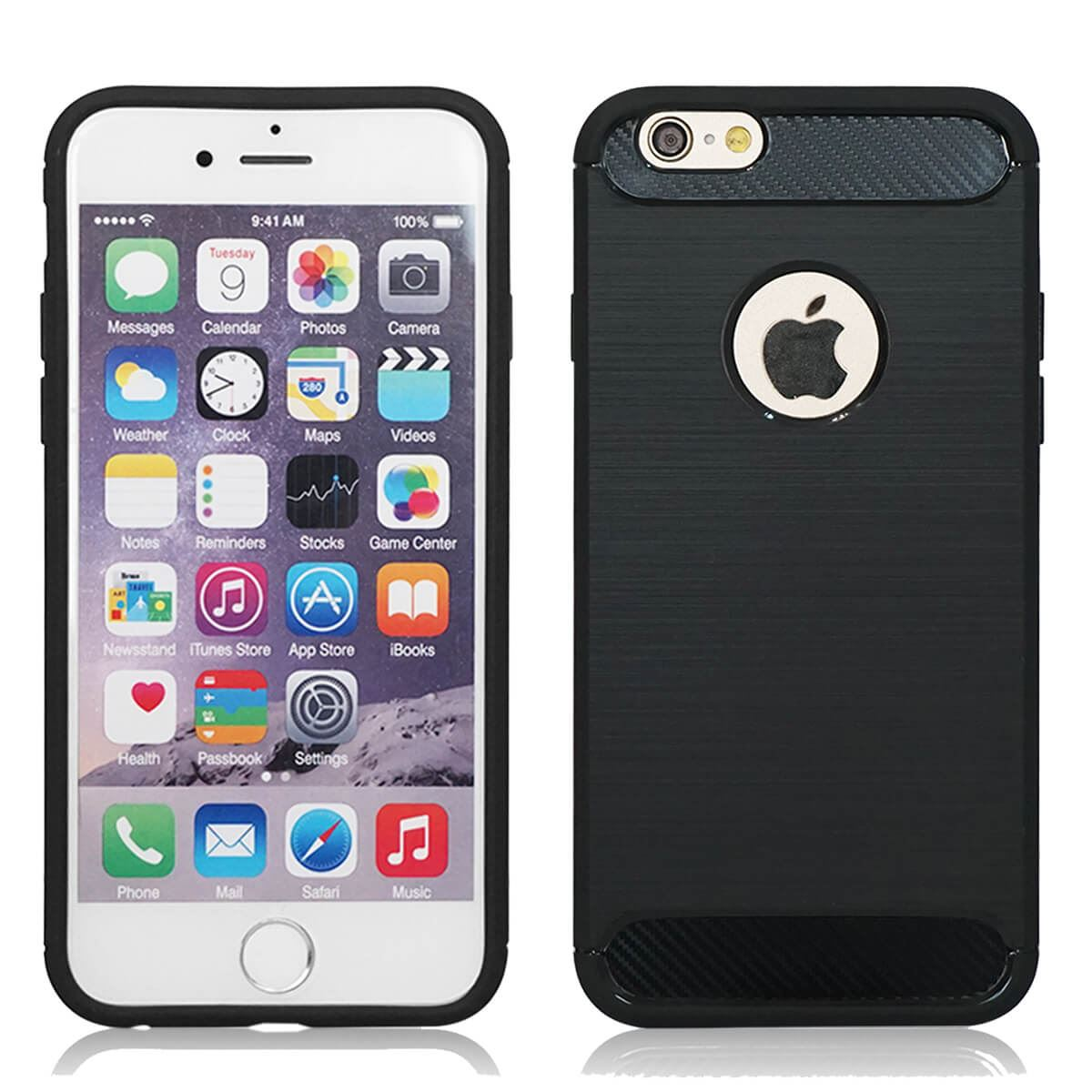 Shockproof-Bumper-Case-Apple-iPhone-10-X-8-7-6s-Se-5s-5-Luxury-Ultra-Slim-Cover thumbnail 3