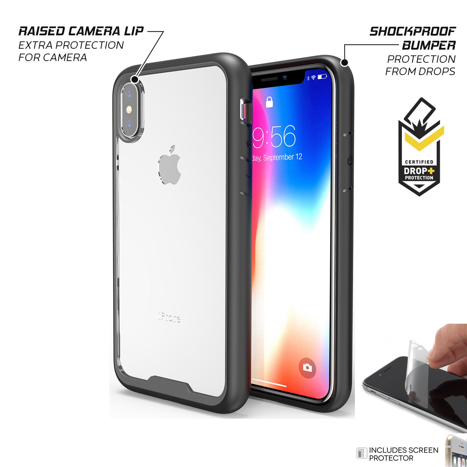 thumbnail 12 - For Apple iPhone XR Xs Max X 8 7 Plus 6 Se 2020 Case Cover Clear Shockproof Thin
