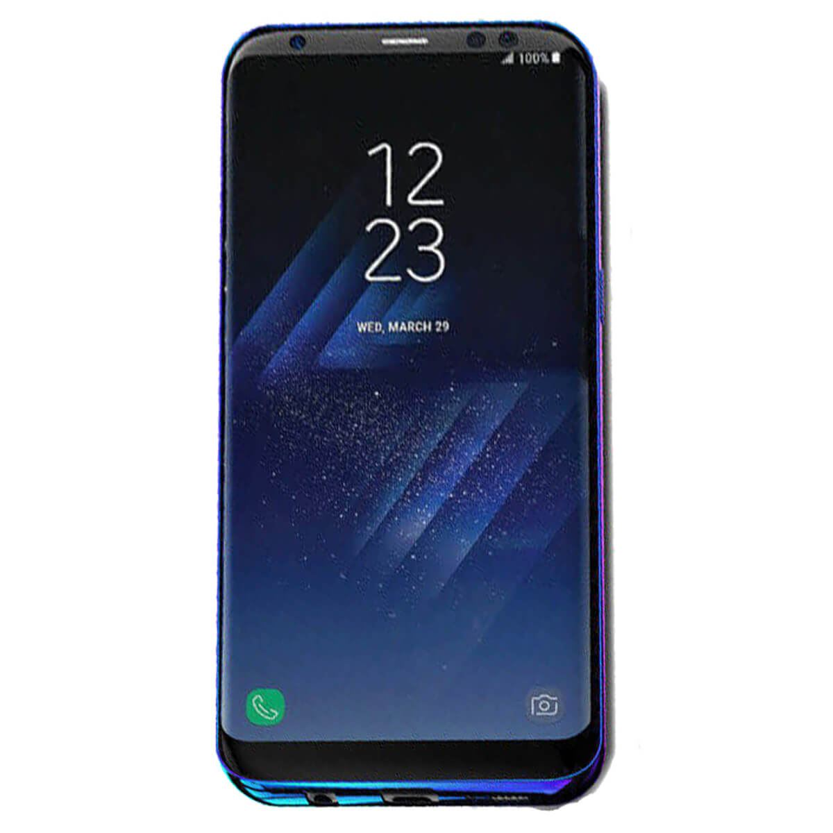 Mirror-Hard-Back-Case-For-Samsung-Galaxy-S7-S8-Blu-Ray-Gradient-Colour-Cover thumbnail 6