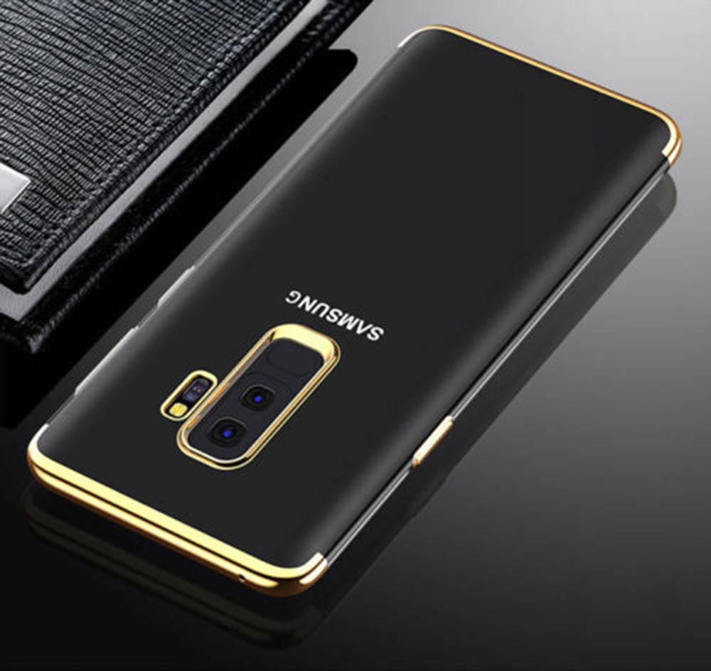 Luxury-Ultra-Slim-Shockproof-Silicone-Clear-Case-Cover-For-Samsung-Galaxy-S8-S9 miniature 74