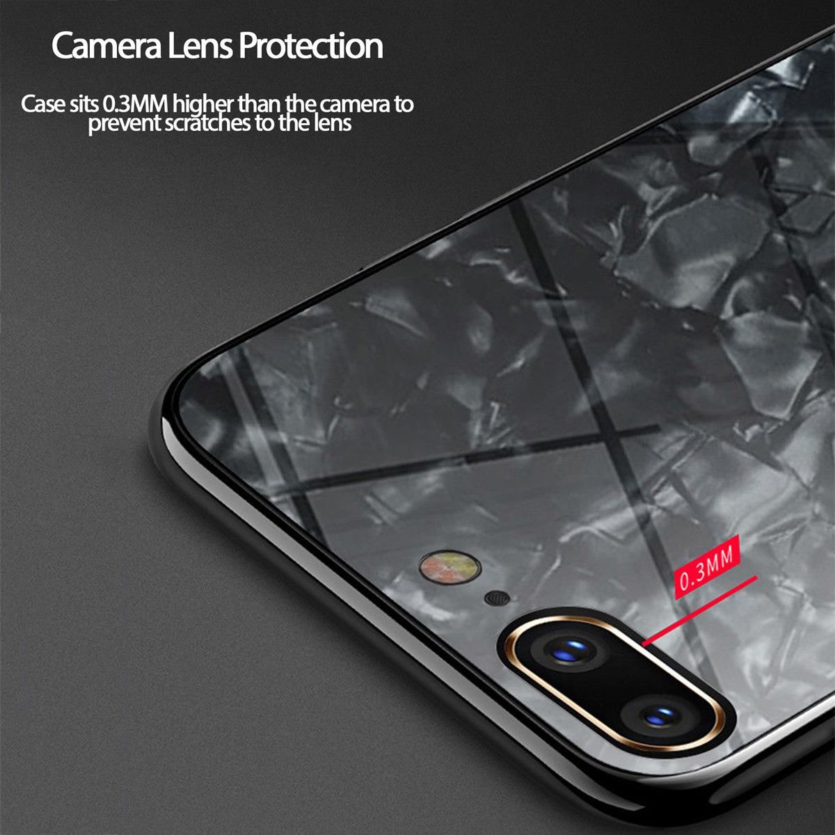 Luxury-Marble-Tempered-Glass-Case-Cover-For-Apple-iPhone-X-XS-XR-Max-10-8-7-6s-6 thumbnail 15