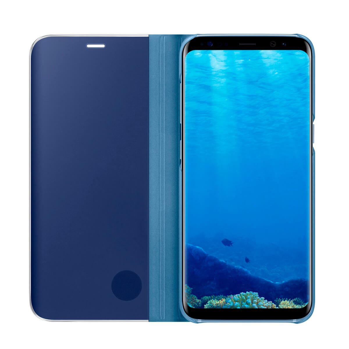 New-Samsung-Galaxy-S10-S9-S8-Smart-View-Mirror-Leather-Flip-Stand-Case-Cover thumbnail 38