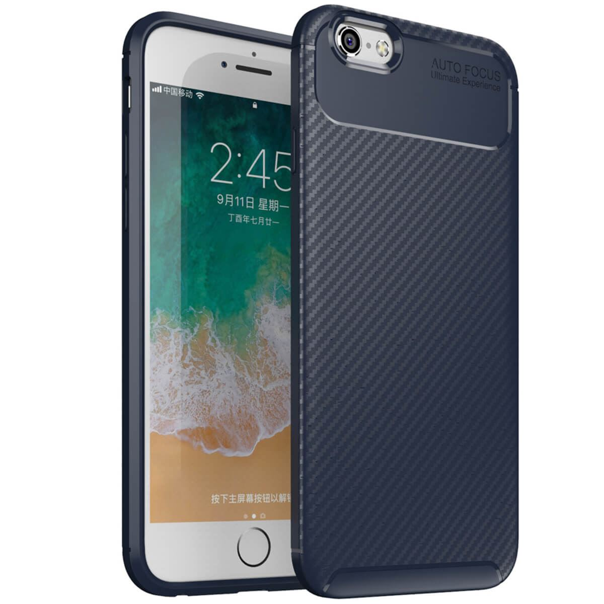 Carbon-Fibre-Soft-Case-For-iPhone-11-X-XR-Max-8-7-6-Plus-Slim-TPU-Silicone-Cover thumbnail 14