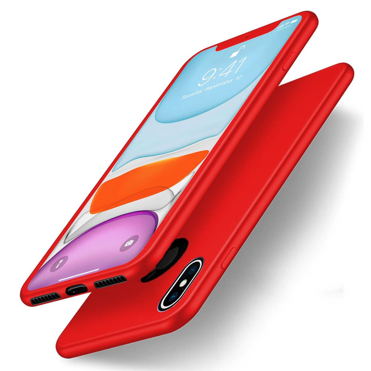 Thin-Shockproof-Case-For-Apple-iPhone-10-X-8-7-Plus-6-5-Hybrid-360-TPU-Gel-Cover thumbnail 17