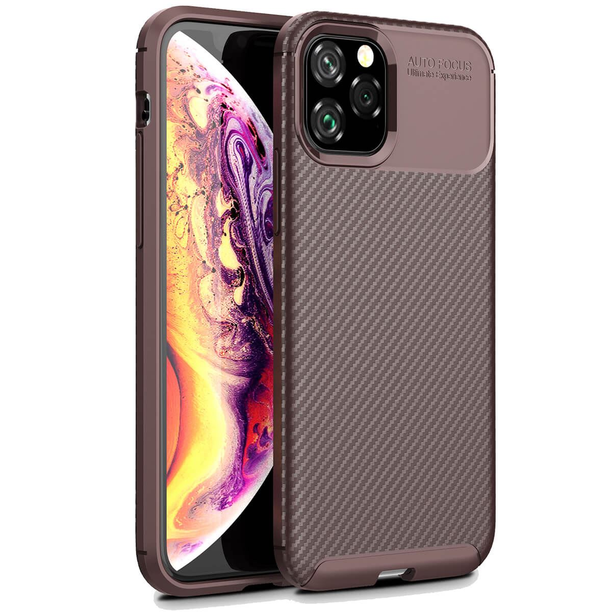 Carbon-Fibre-Soft-Case-For-iPhone-11-X-XR-Max-8-7-6-Plus-Slim-TPU-Silicone-Cover thumbnail 18