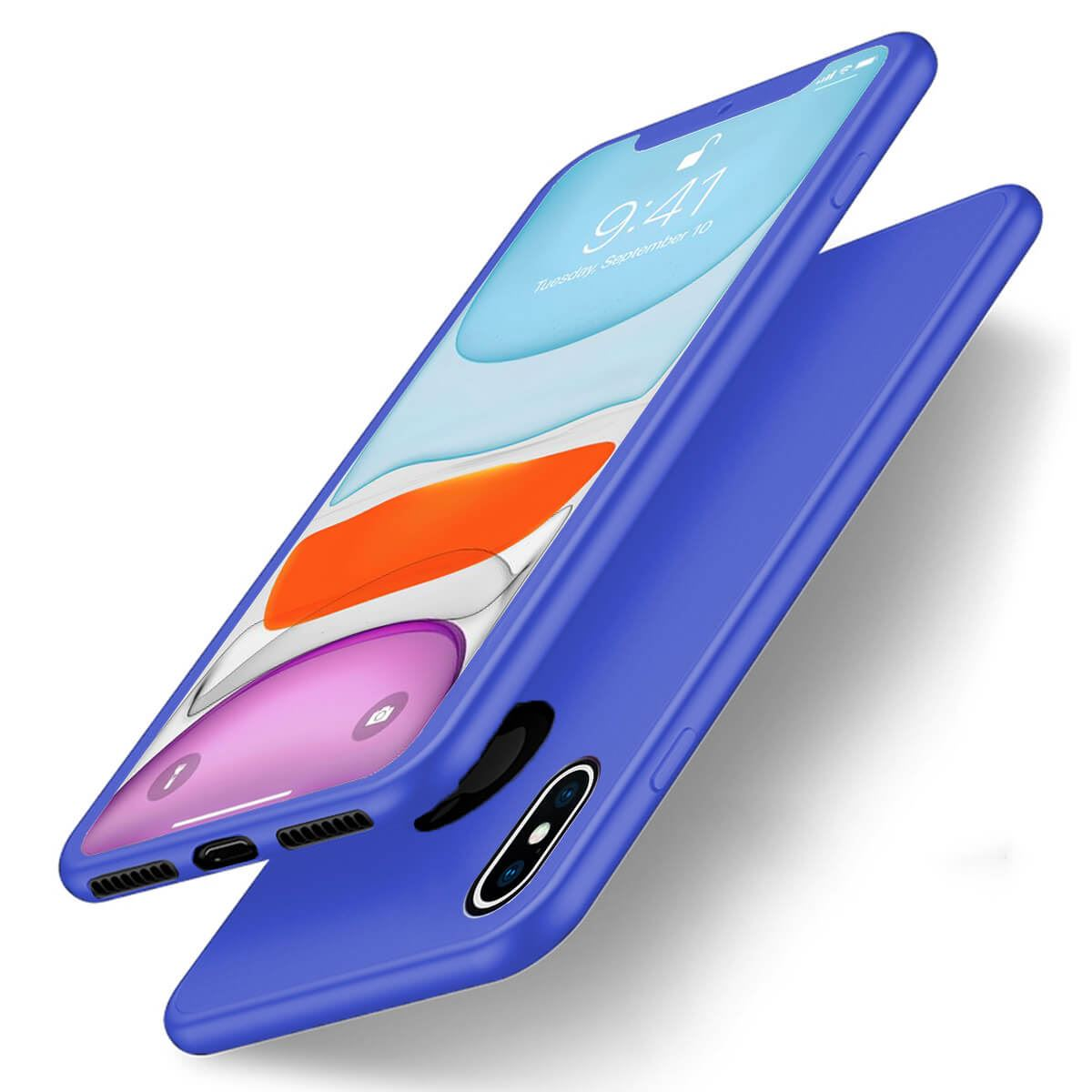 Thin-Shockproof-Case-For-Apple-iPhone-10-X-8-7-Plus-6-5-Hybrid-360-TPU-Gel-Cover thumbnail 11