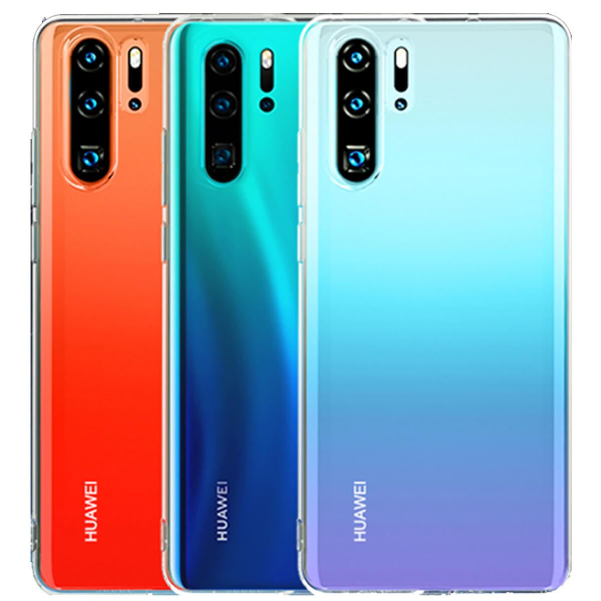 Case-For-Huawei-P20-Pro-P-Smart-Shockproof-Silicone-Protective-Clear-Gel-Cover thumbnail 7