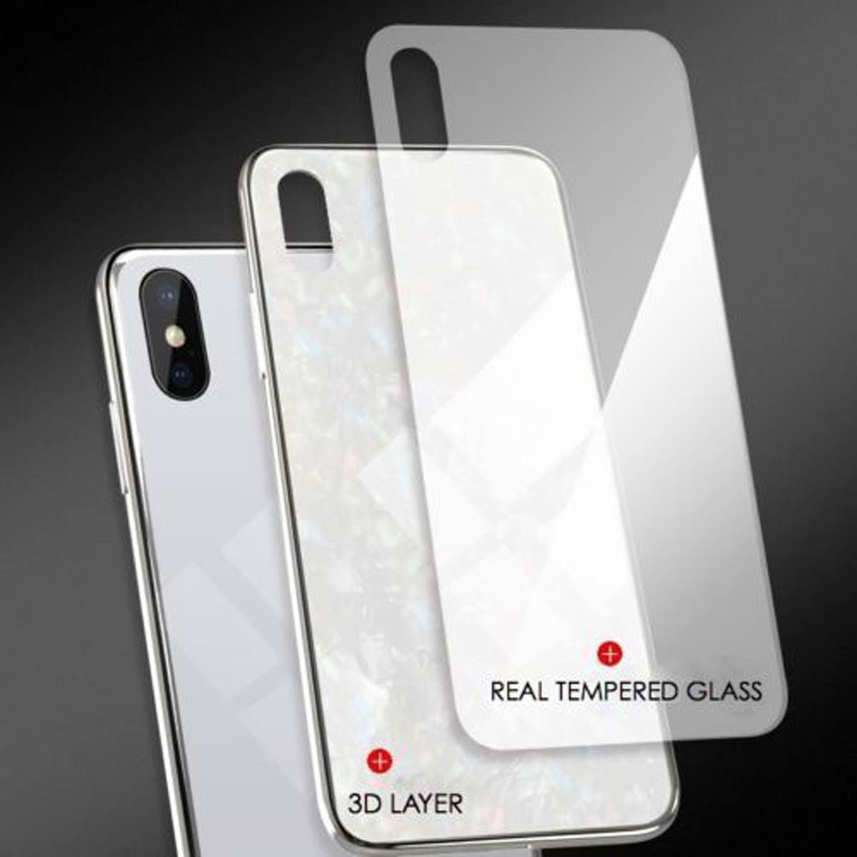 Luxury-Marble-Tempered-Glass-Case-Cover-For-Apple-iPhone-X-XS-XR-Max-10-8-7-6s-6 thumbnail 64