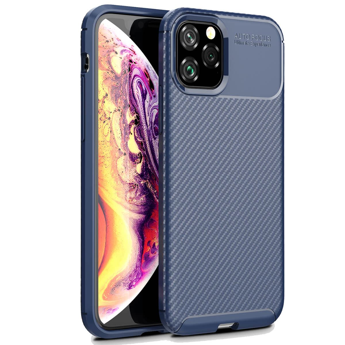 Carbon-Fibre-Soft-Case-For-iPhone-11-X-XR-Max-8-7-6-Plus-Slim-TPU-Silicone-Cover thumbnail 15