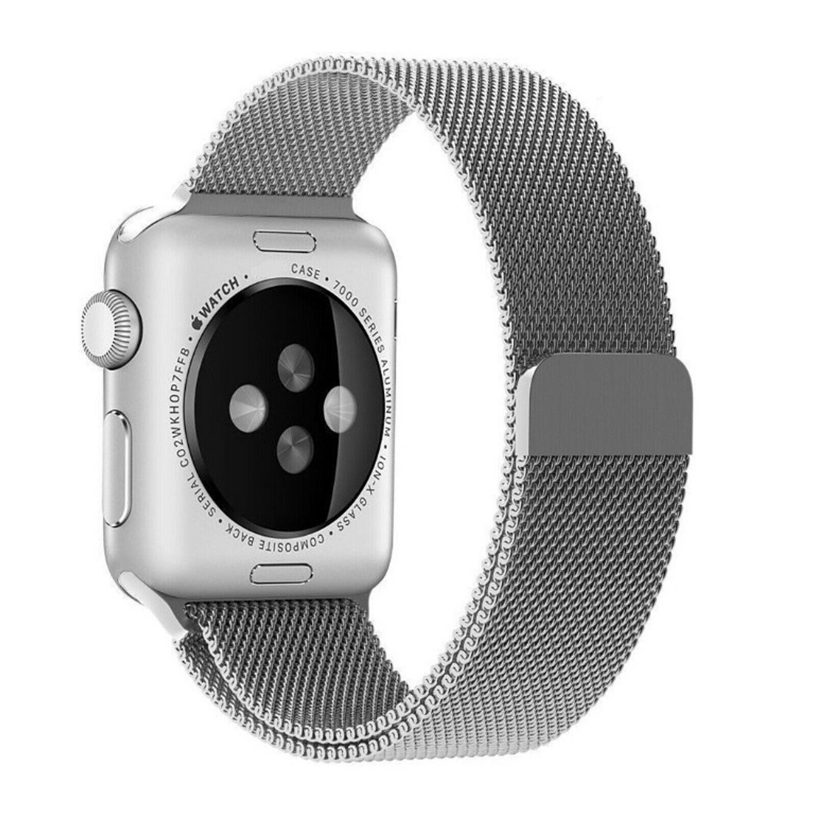 Band-For-Apple-Watch-Milannese-Loop-Stainless-Steel-Strap thumbnail 50