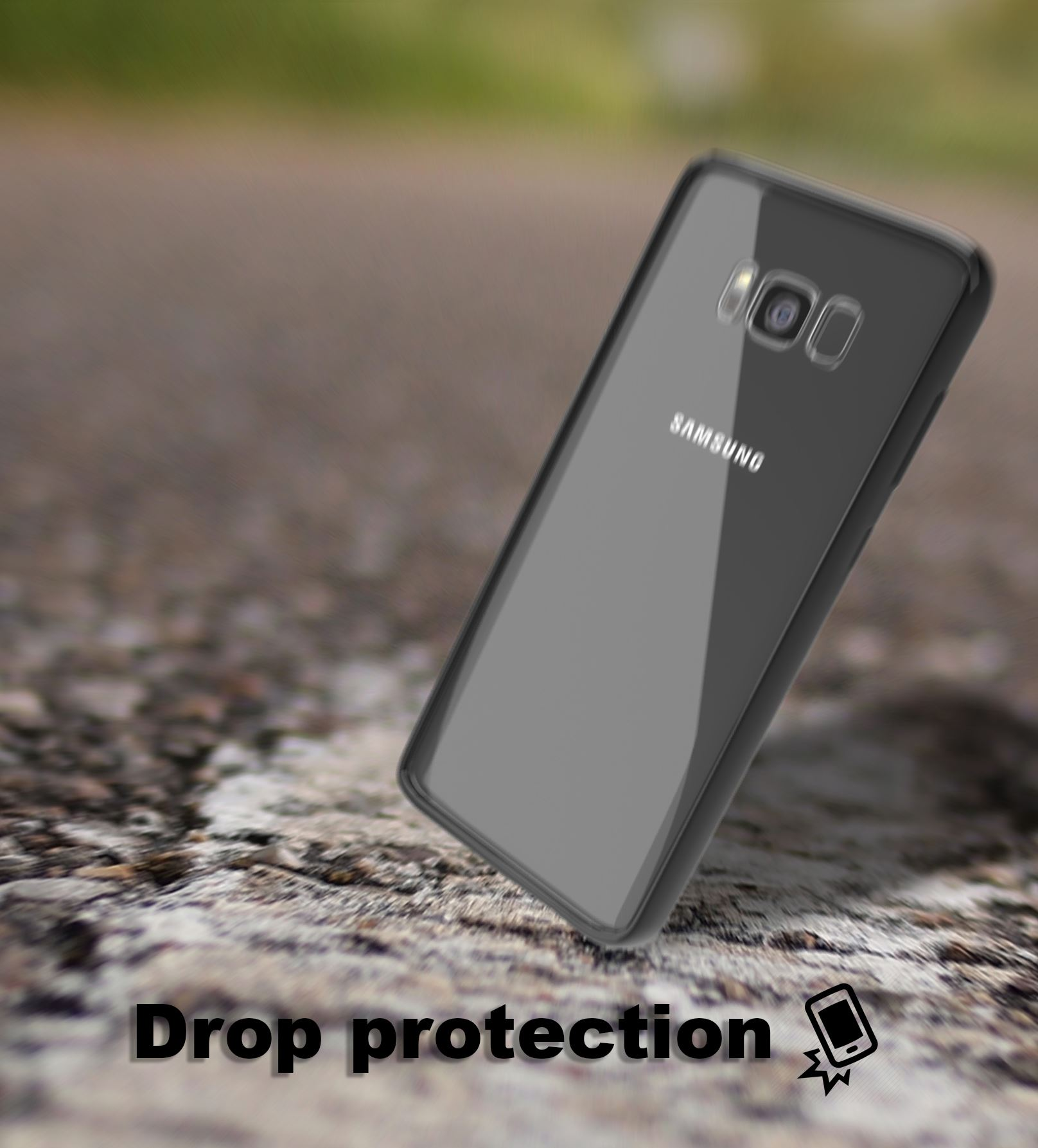 Samsung-Galaxy-S8-S9-Note-8-Shockproof-TPU-Bumper-Gel-Crystal-Clear-Case-Cover 縮圖 18