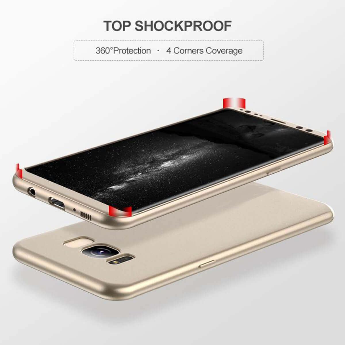 New-ShockProof-Hybrid-360-TPU-Thin-Case-Cover-For-Samsung-Galaxy-S7-edge-S8-S9 miniature 52