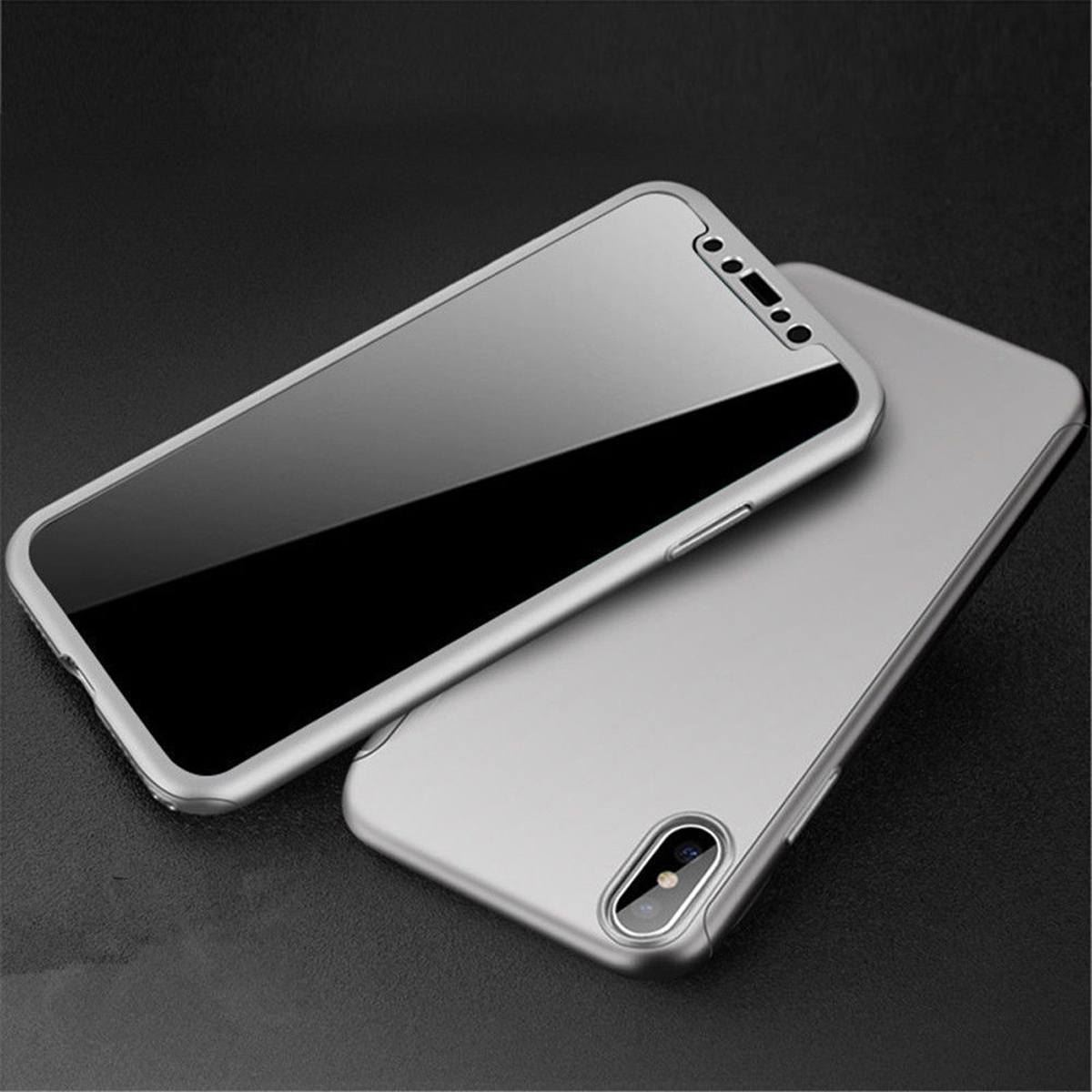 For-Apple-iPhone-XS-Max-XR-Hybrid-360-Slim-Ultra-Thin-Heavy-Duty-Shockproof-Case Indexbild 93