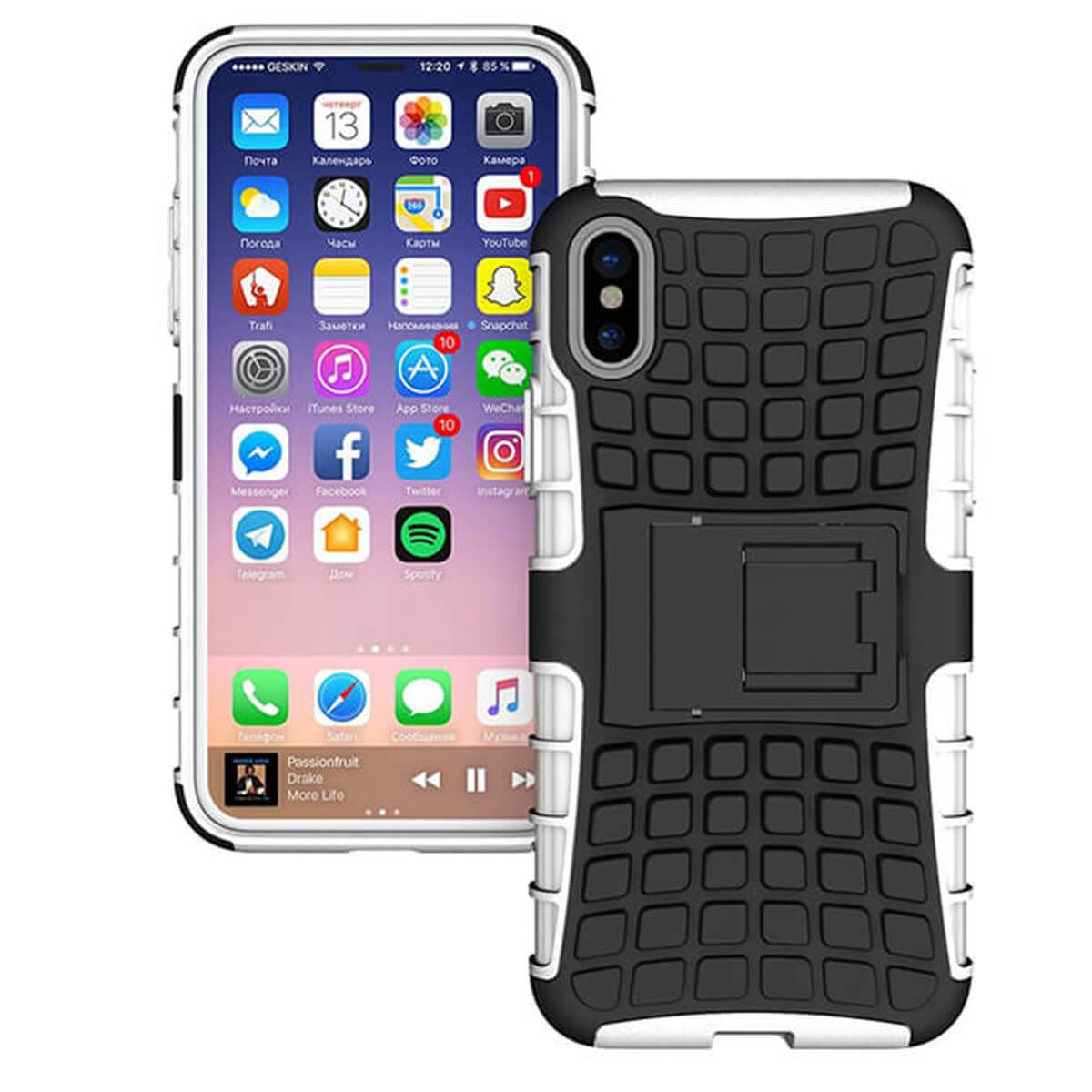 Shockproof-Case-Apple-iPhone-10-X-8-7-6s-Se-5-Hard-Heavy-Duty-Stand-Armour-Cover thumbnail 18