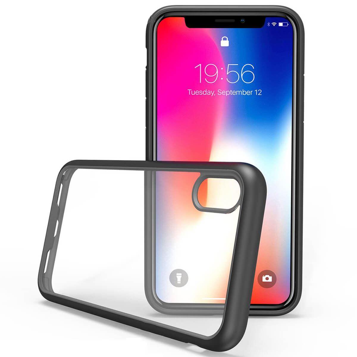 Shockproof-Bumper-Case-For-iPhone-X-XS-XR-6-Plus-7-Plus-6-Plus-Hard-Armor thumbnail 3