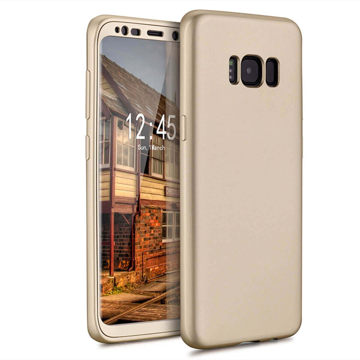 New-ShockProof-Hybrid-360-TPU-Thin-Case-Cover-For-Samsung-Galaxy-S7-edge-S8-S9 miniature 58