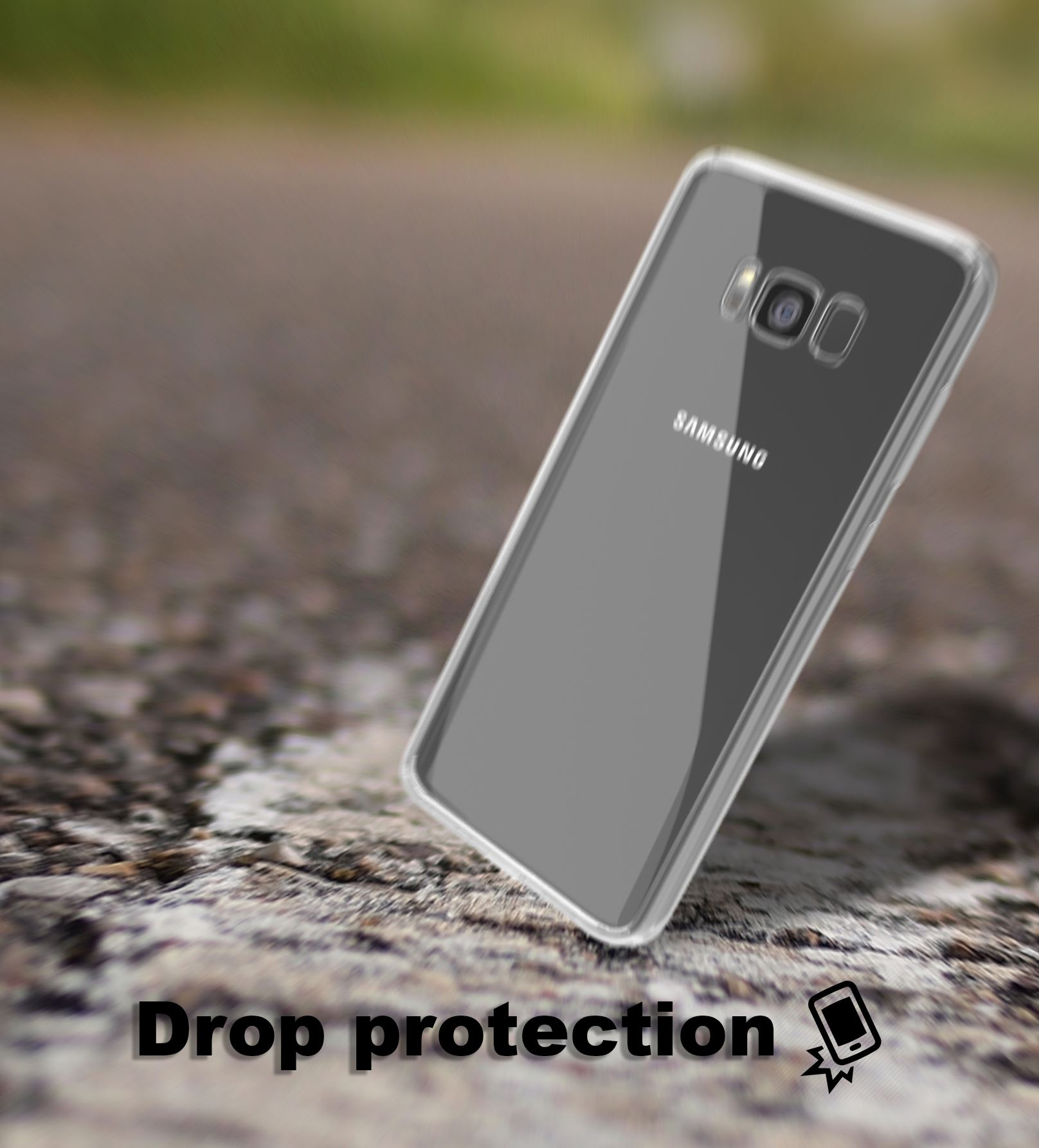Samsung-Galaxy-S8-S9-Note-8-Shockproof-TPU-Bumper-Gel-Crystal-Clear-Case-Cover 縮圖 10