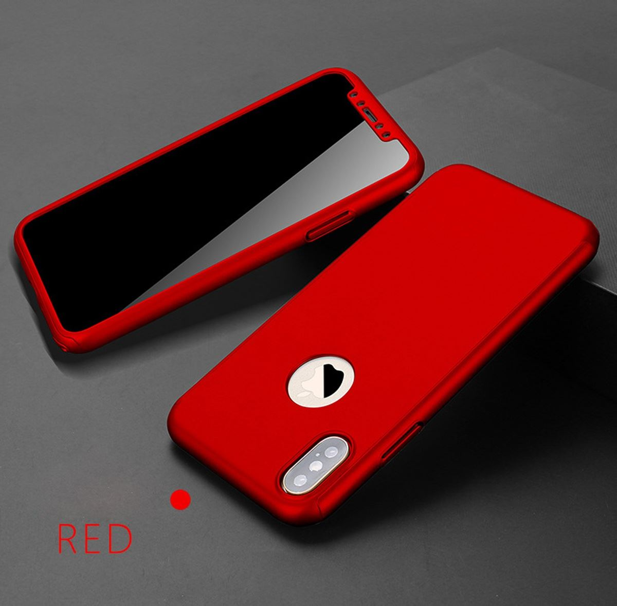 For-Apple-iPhone-XS-Max-XR-Hybrid-360-Slim-Ultra-Thin-Heavy-Duty-Shockproof-Case thumbnail 43