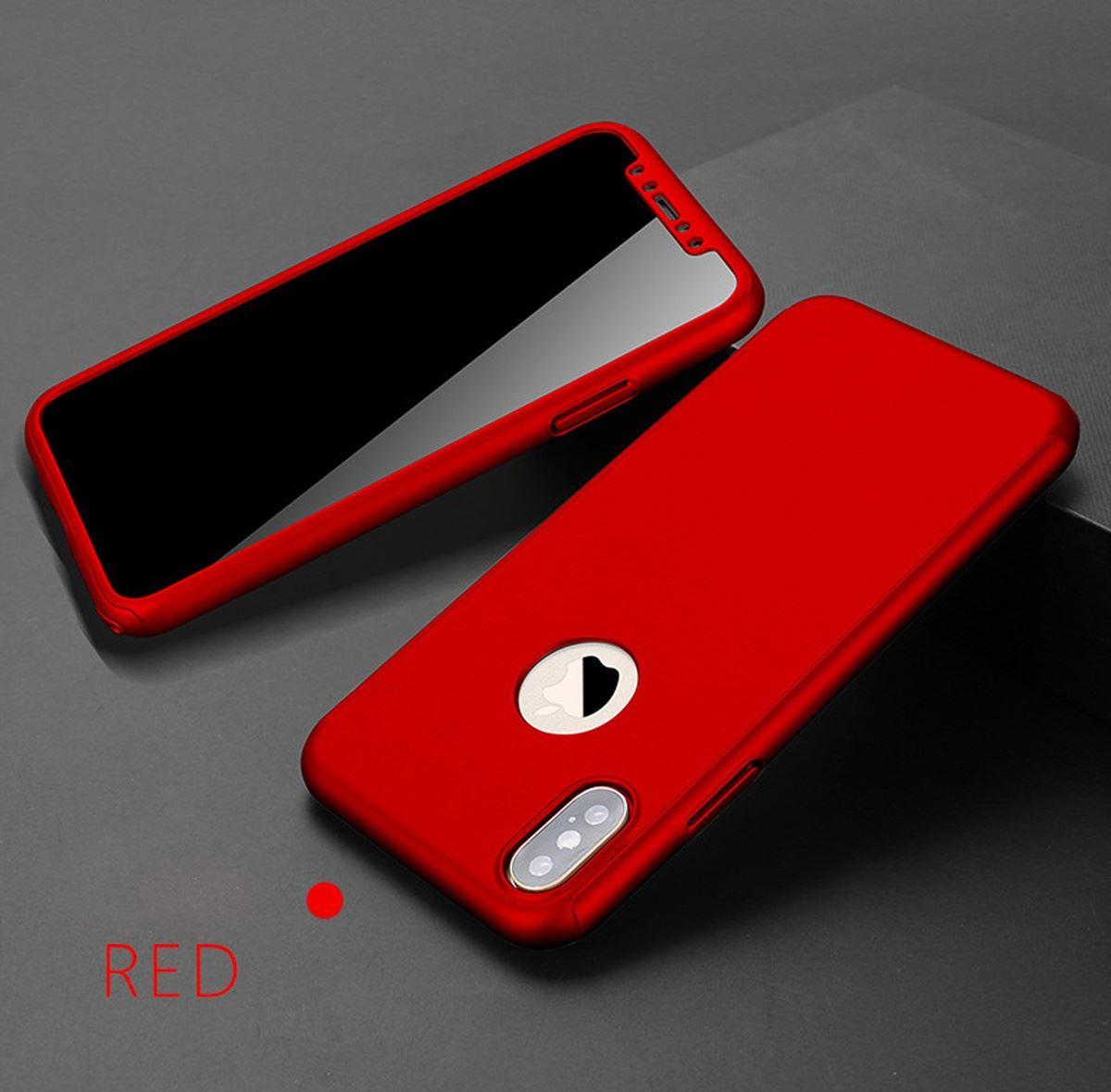 For-Apple-iPhone-XS-Max-XR-Hybrid-360-Slim-Ultra-Thin-Heavy-Duty-Shockproof-Case Indexbild 43