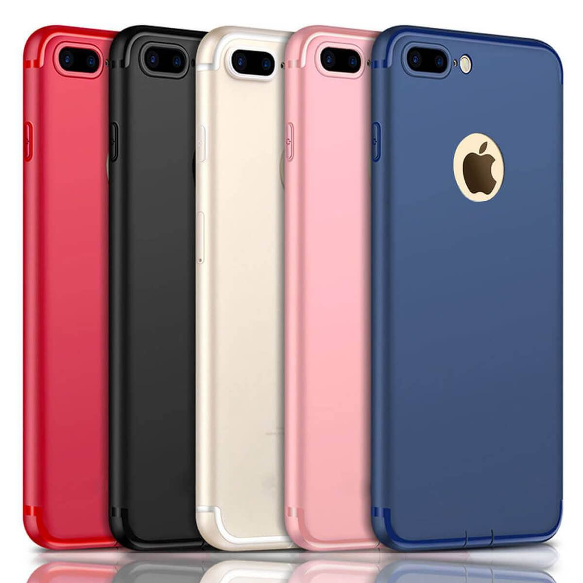 Ultra-Thin-Case-Apple-iPhone-10-8-7-Plus-6-5-Luxury-Slim-Silicone-TPU-Soft-Cover thumbnail 9