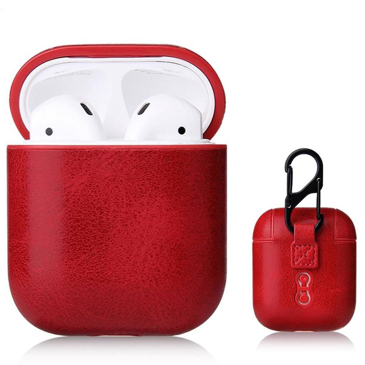 Case-For-Apple-Airpods-1-2-1st-2nd-Gen-Soft-Leather-Skin-Earphones-PU-Cover thumbnail 26