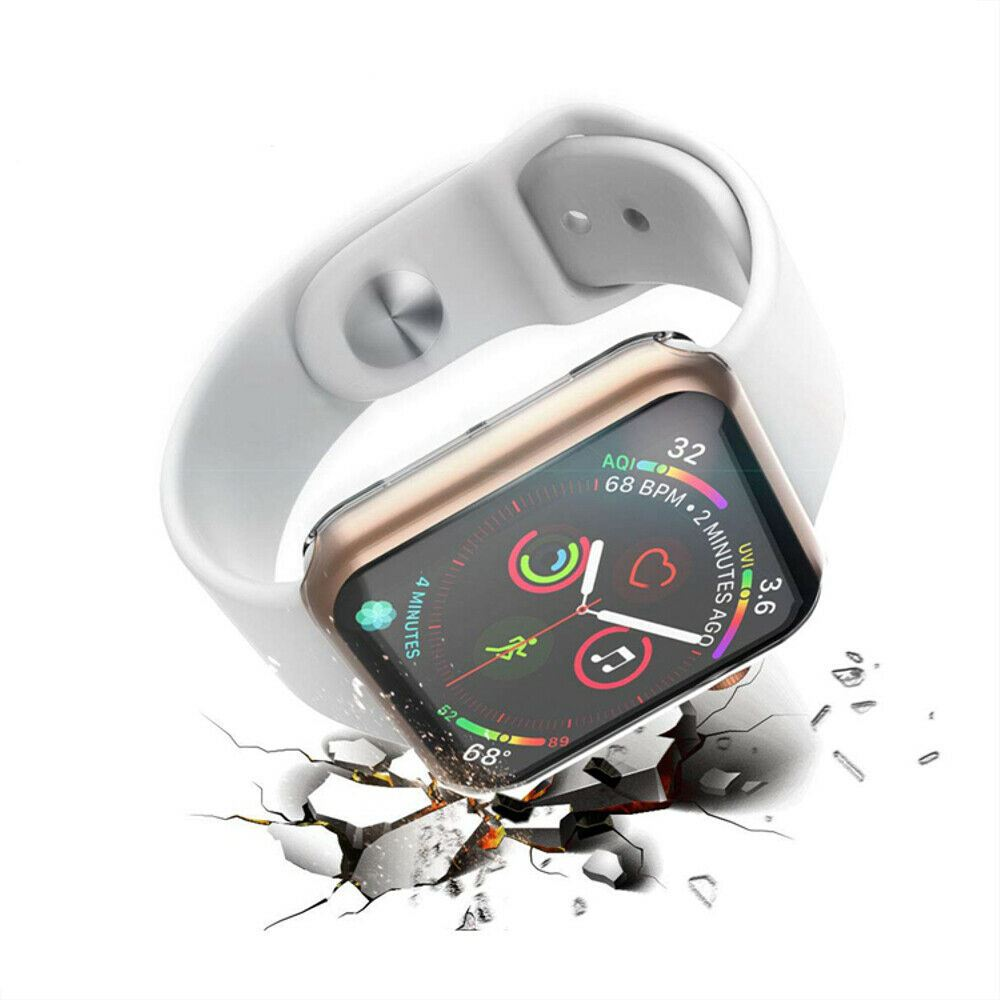 TPU-Gel-Case-For-Apple-Watch-Responsive-Touch-Full-Screen-Curved-Edge-Protective thumbnail 44