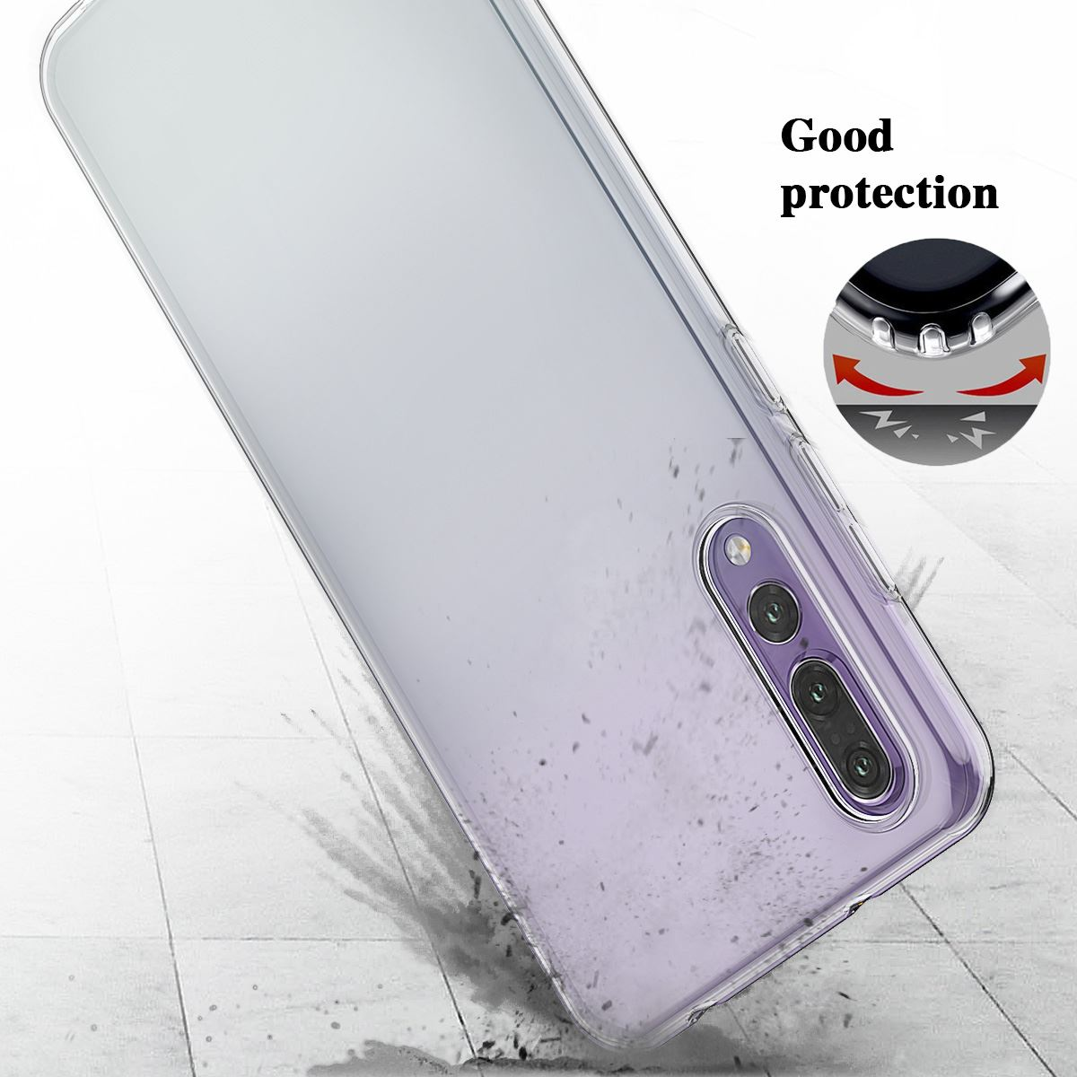 Shockproof-Silicone-Protective-Clear-Gel-Cover-Case-For-Huawei-P20-Pro-P-Smart thumbnail 22