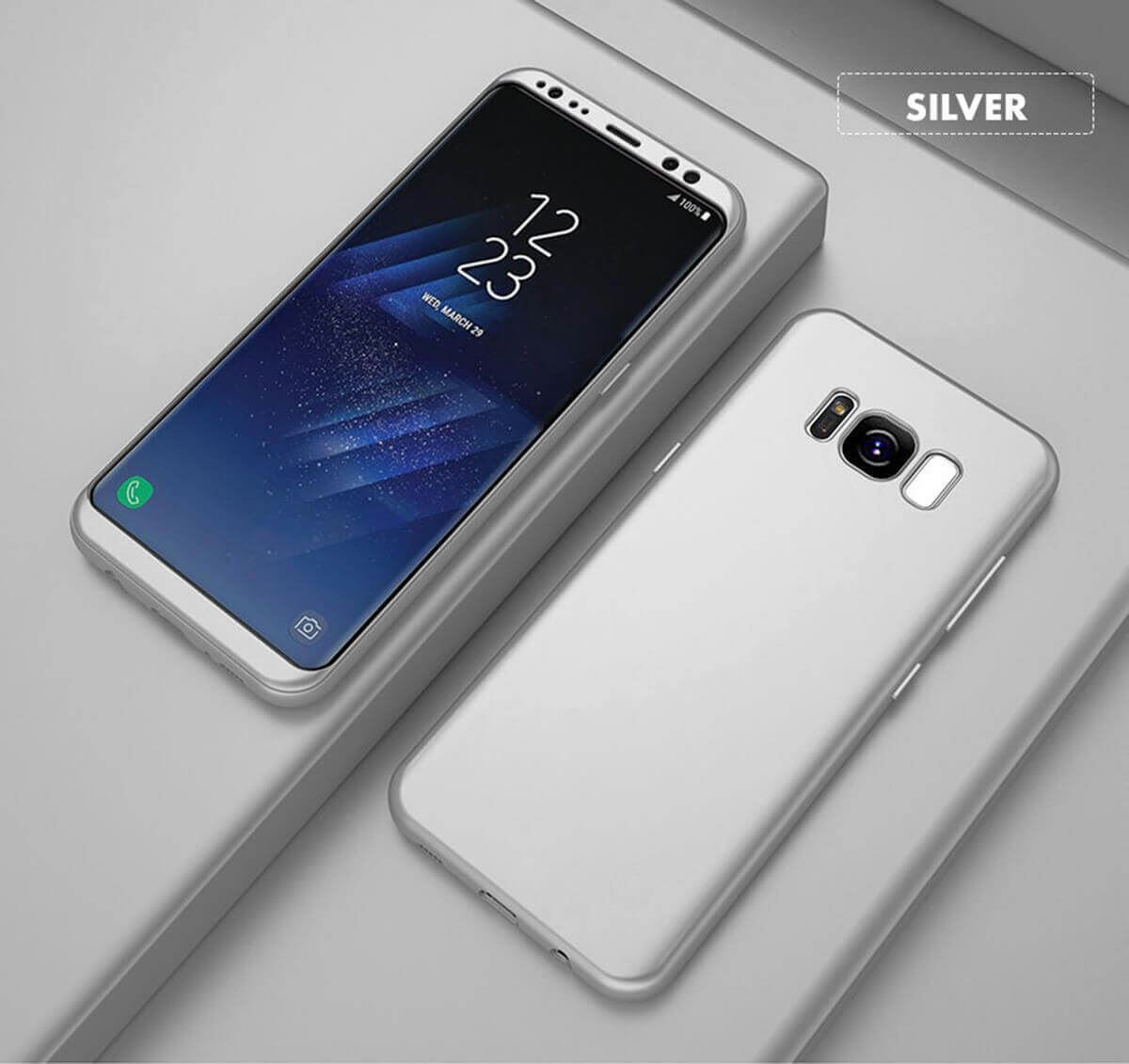 New-ShockProof-Hybrid-360-TPU-Thin-Case-Cover-For-Samsung-Galaxy-S7-edge-S8-S9 miniature 66