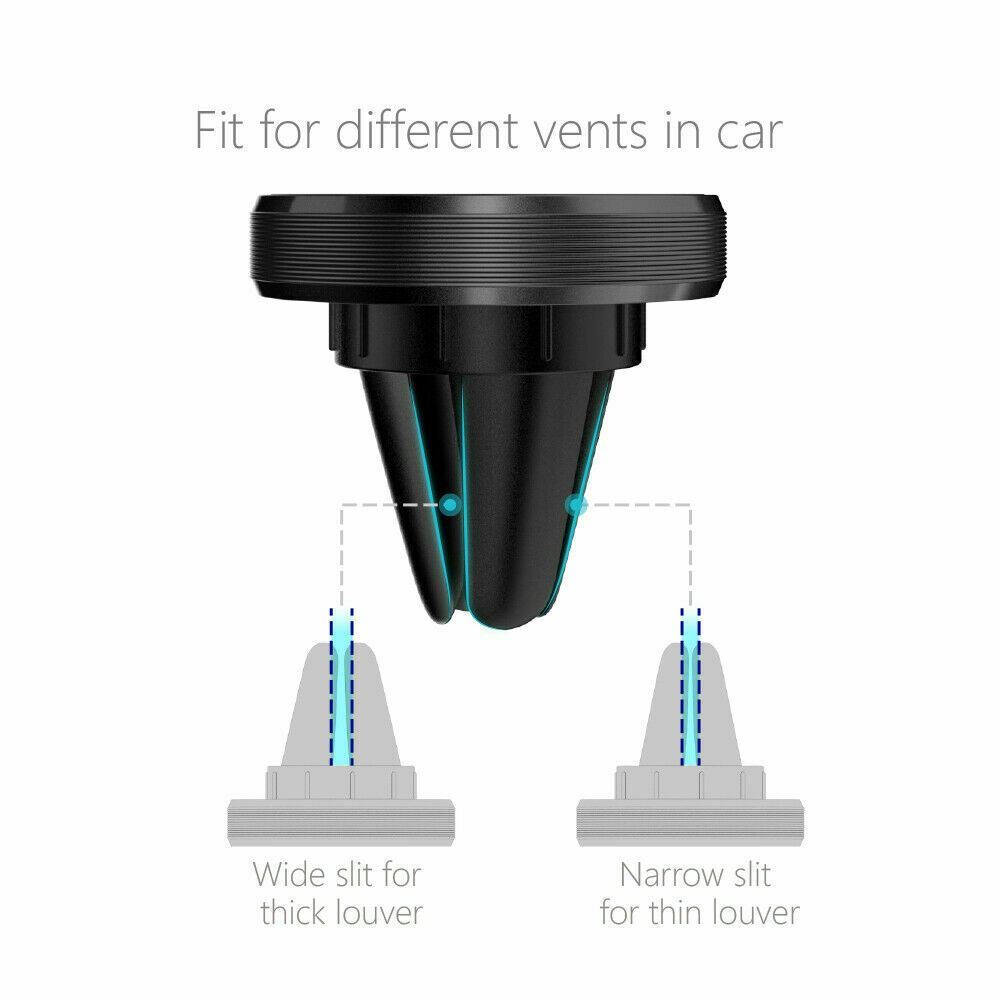 thumbnail 19 - Universal Magnetic in Car Mobile Phone Holder Air Vent Phone Mount For iPhone