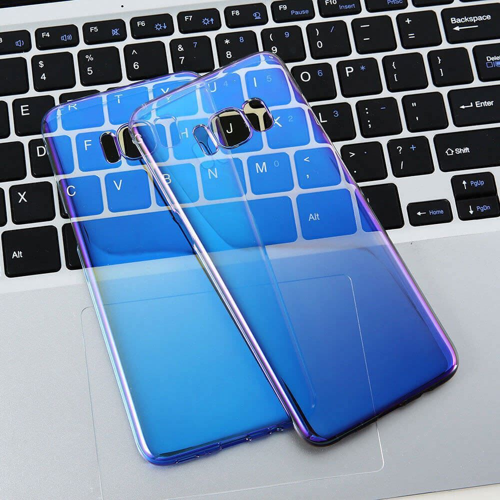 Blu-Ray-Gradient-Colour-Mirror-Hard-Back-Case-Cover-For-Samsung-Galaxy-S7-S8-S9 Indexbild 29