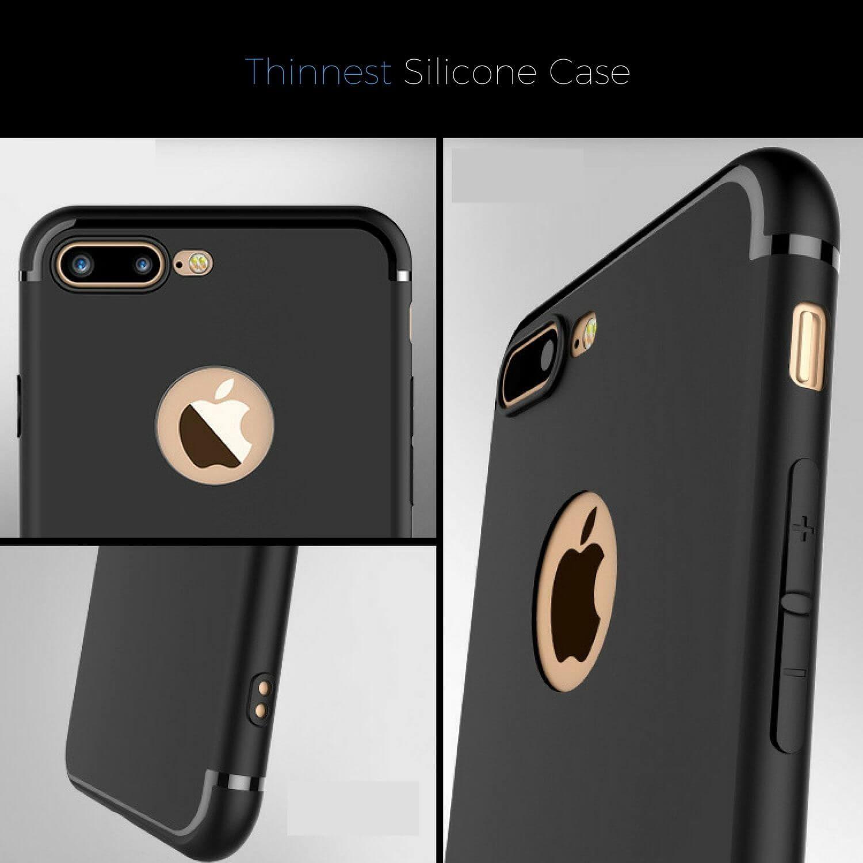 Luxury-Ultra-Thin-Slim-Silicone-TPU-Soft-Case-Cover-Apple-iPhone-10-8-7-Plus-6-5 miniatuur 62