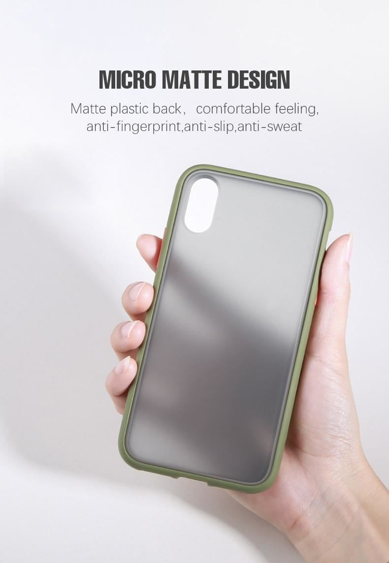thumbnail 7 - Bumper Anti-Fall Case For Apple 11 X 8 7 6 Se Ultra Thin TPU & PC Cover