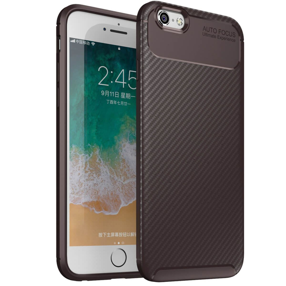 Carbon-Fibre-Soft-Case-For-iPhone-11-X-XR-Max-8-7-6-Plus-Slim-TPU-Silicone-Cover thumbnail 17