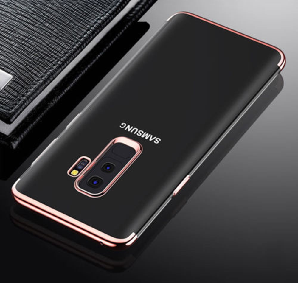 Luxury-Ultra-Slim-Shockproof-Silicone-Clear-Case-Cover-For-Samsung-Galaxy-S8-S9 miniature 39