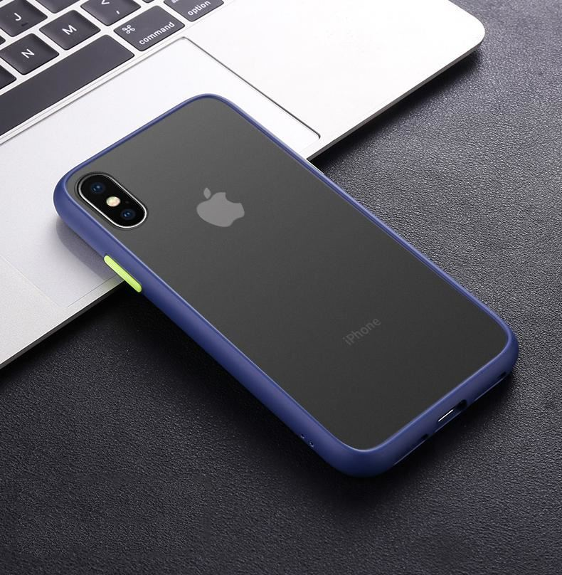 thumbnail 10 - Bumper Anti-Fall Case For Apple 11 X 8 7 6 Se Ultra Thin TPU & PC Cover