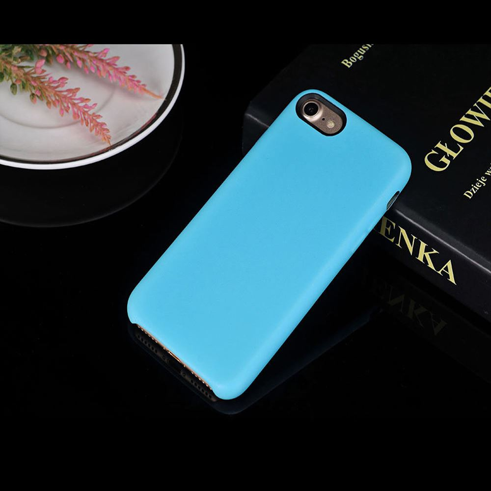 Original-PU-Soft-Silicone-Leather-Slim-Case-Cover-Apple-iPhone-10-8-7-Plus-6s-5 miniatuur 44
