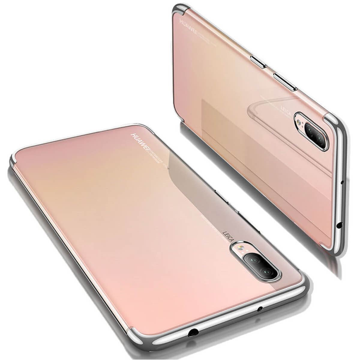 Case-For-Huawei-P20-Pro-P-Smart-Stylish-Hybrid-Shockproof-Plating-Silicone-Cover thumbnail 18