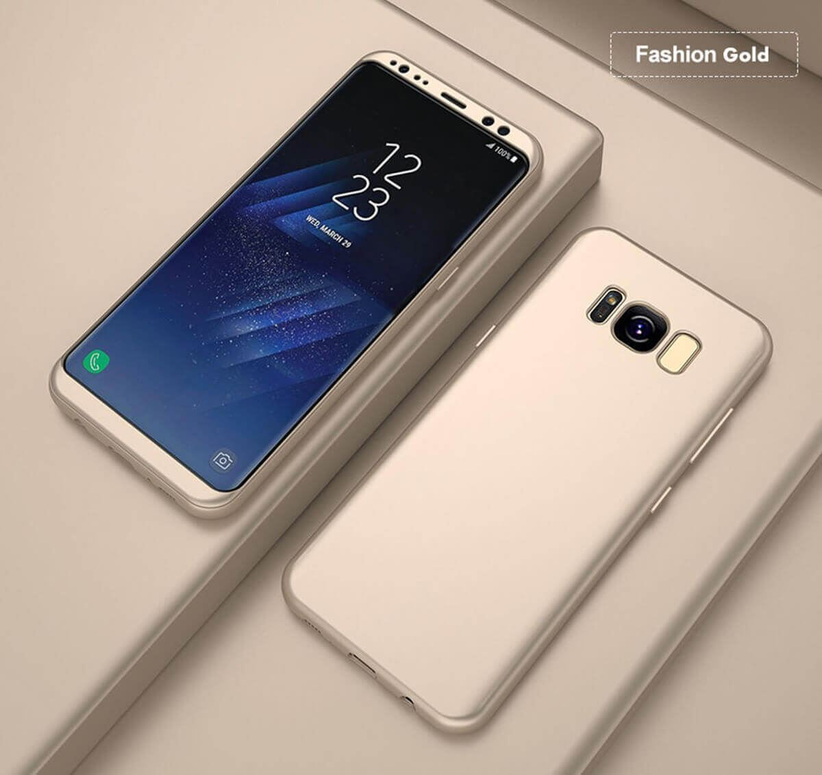 New-ShockProof-Hybrid-360-TPU-Thin-Case-Cover-For-Samsung-Galaxy-S7-edge-S8-S9 miniature 59