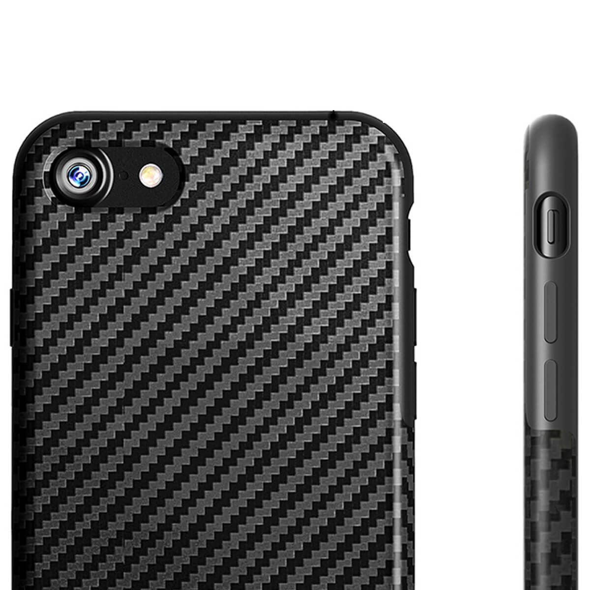 thumbnail 5 - Shockproof Carbon Fibre Case For Apple iPhone 10 X 8 Plus 7 6s Se 5 Thin Cover