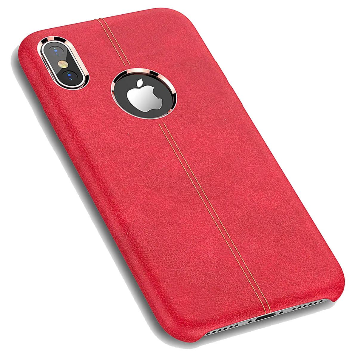 Rugged-Thin-Case-Skin-For-Apple-iPhone-10-X-8-7-Plus-6s-Genuine-Leather-Cover thumbnail 12