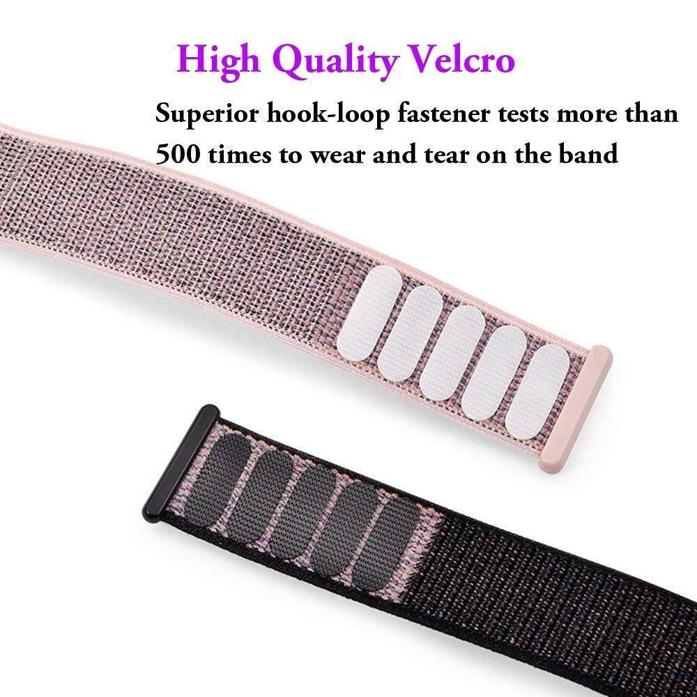 Band-Strap-For-Apple-Watch-Adjustable-Waterproof-Braided-Nylon-Material thumbnail 15