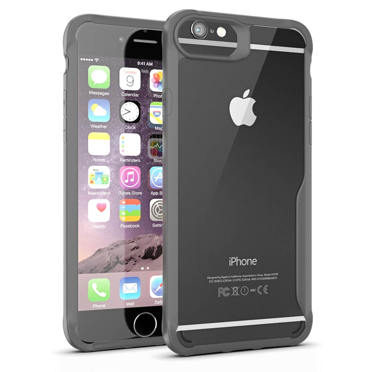 Thin-Shockproof-Case-For-Apple-iPhone-X-8-7-Plus-6s-Clear-Hard-Bumper-TPU-Cover thumbnail 16