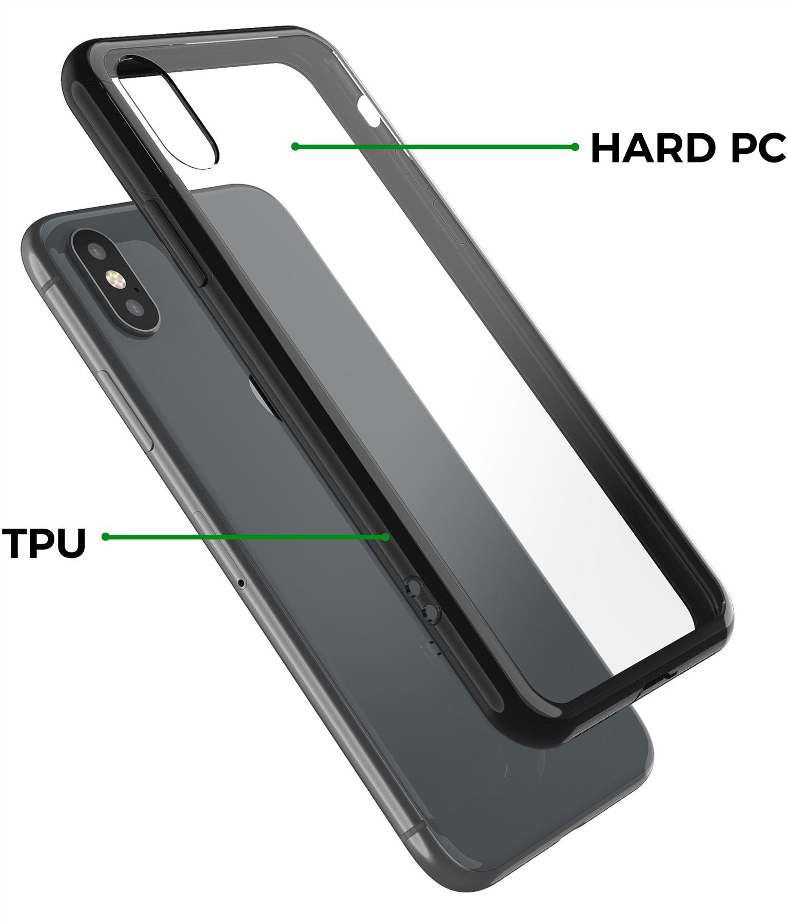 thumbnail 8 - For Apple iPhone XR Xs Max X 8 7 Plus 6 5 Se Case Cover Clear Transparent CS283